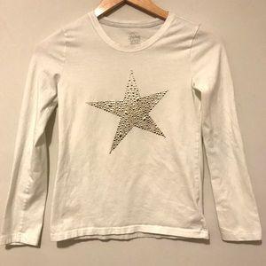 FADED GLORY | Girls long sleeve shirt L (10-12)